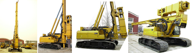 HH series of high-speed hydraulic pile hammer application examples